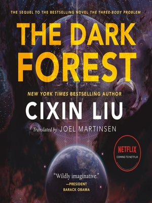cover image of The Dark Forest