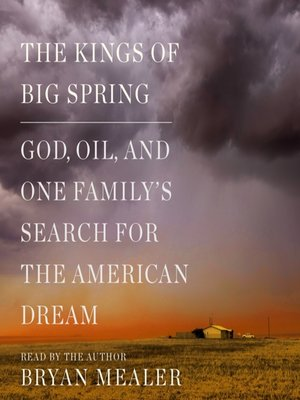 cover image of The Kings of Big Spring