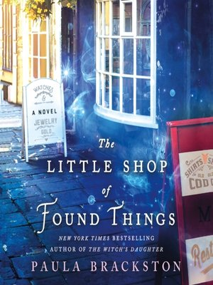 cover image of The Little Shop of Found Things--A Novel