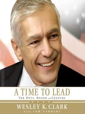 cover image of A Time to Lead