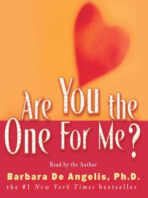cover image of Are You the One for Me?