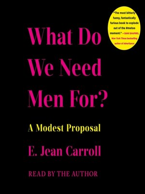 cover image of What Do We Need Men For?
