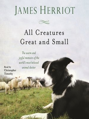 cover image of All Creatures Great and Small