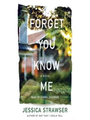 cover image of Forget You Know Me