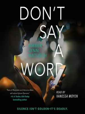 cover image of Don't Say a Word