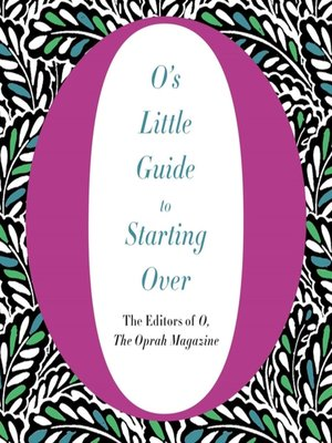 cover image of O's Little Guide to Starting Over
