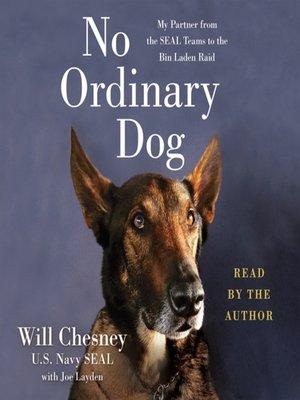 cover image of No Ordinary Dog