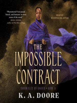 cover image of The Impossible Contract--Book 2 in the Chronicles of Ghadid