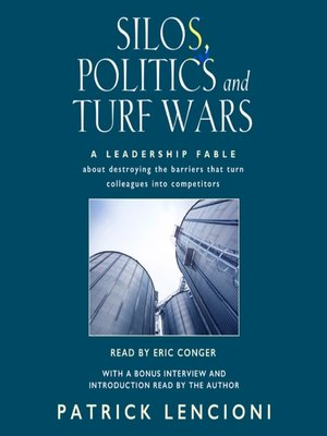 cover image of Silos, Politics and Turf Wars
