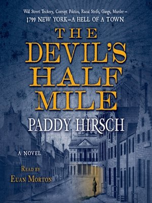 cover image of The Devil's Half Mile--A Novel