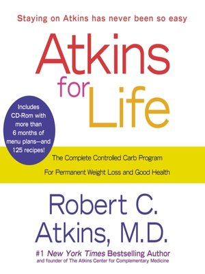 cover image of Atkins for Life