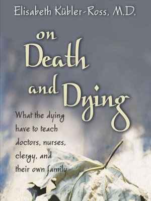 cover image of On Death and Dying