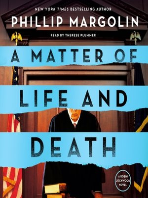 cover image of A Matter of Life and Death