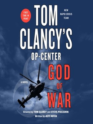 cover image of Tom Clancy's Op-Center: God of War