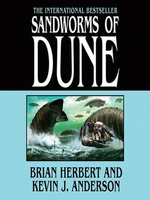 cover image of Sandworms of Dune