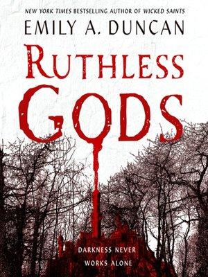 cover image of Ruthless Gods--A Novel
