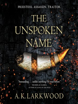 cover image of The Unspoken Name