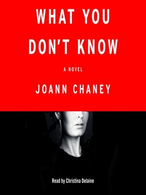 cover image of What You Don't Know
