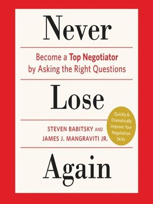 cover image of Never Lose Again