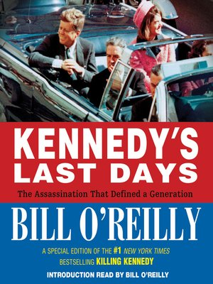 cover image of Kennedy's Last Days