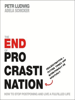 cover image of The End of Procrastination