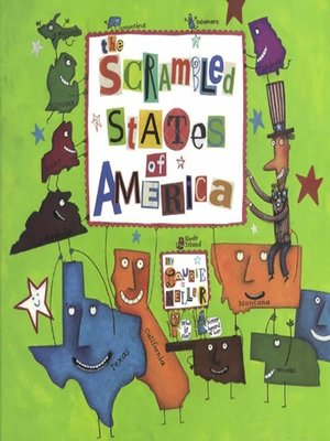 cover image of The Scrambled States of America