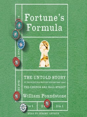 cover image of Fortune's Formula