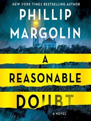 cover image of A Reasonable Doubt--A Robin Lockwood Novel