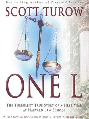 cover image of One L