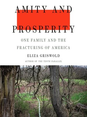 cover image of Amity and Prosperity