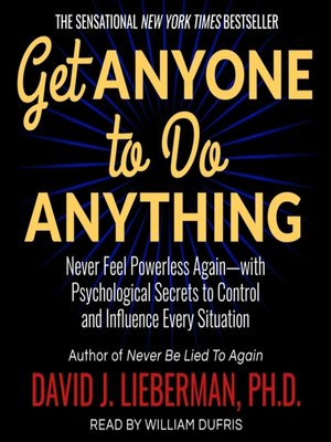 cover image of Get Anyone to Do Anything