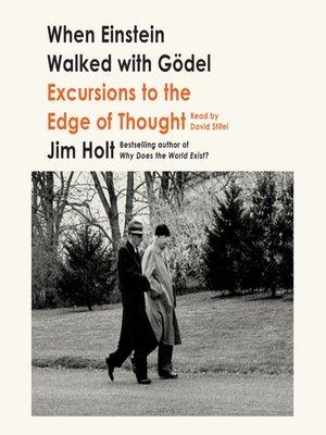cover image of When Einstein Walked with Gödel
