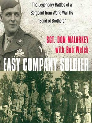 cover image of Easy Company Soldier