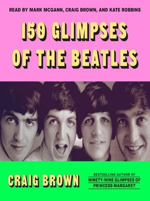 cover image of 150 Glimpses of the Beatles