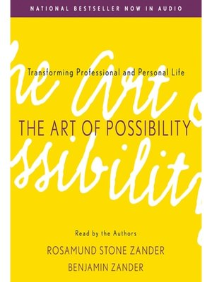 cover image of The Art of Possibility