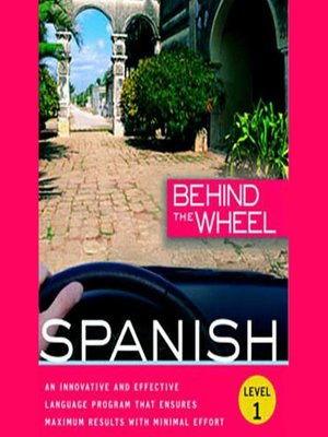 cover image of Behind the Wheel - Spanish 1