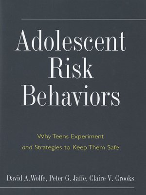 at risk behavior in adolescent development Adolescent risk behaviors and religion: findings from a national study abstract too few studies have assessed the relationship between youth risk behaviors and religiosity using measures.