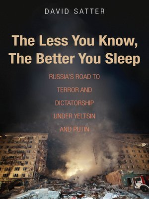 cover image of The Less You Know, The Better You Sleep