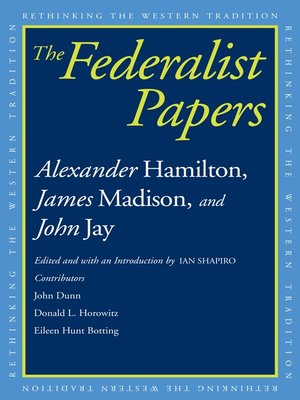 cover image of Federalist Papers