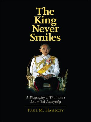 cover image of The King Never Smiles