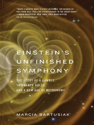 cover image of Einstein's Unfinished Symphony