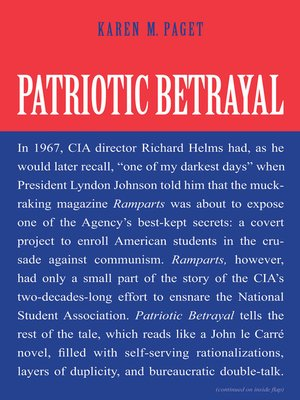cover image of Patriotic Betrayal