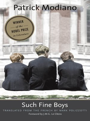 cover image of Such Fine Boys