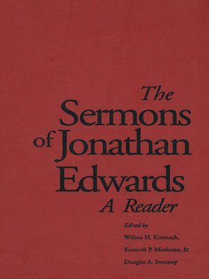 cover image of The Sermons of Jonathan Edwards