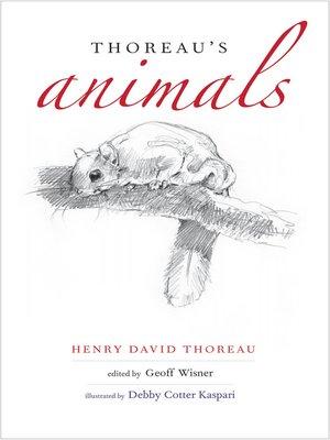 cover image of Thoreau's Animals