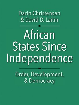cover image of African States since Independence