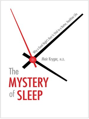 cover image of The Mystery of Sleep
