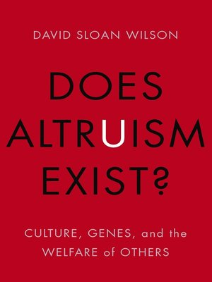 cover image of Does Altruism Exist?