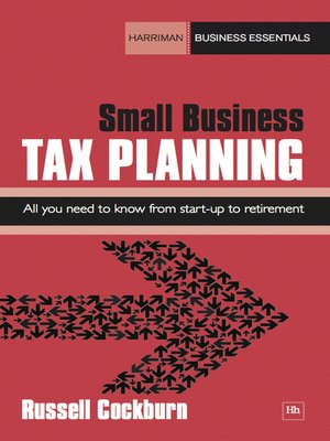 cover image of Small Business Tax Planning