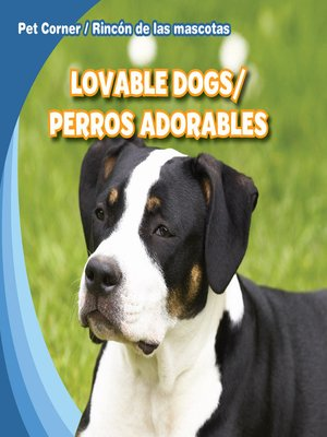 cover image of Lovable Dogs / Perros adorables